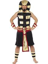 View Item Adult Medium Pharoah Egyptian Greek Myth Fancy Dress Costume Mens Gents Male