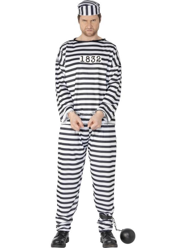 Adult-Convict-Fancy-Dress-Outfit-Prisoner-Criminal-Costume