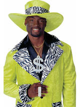 Lime Green Pimp Hat