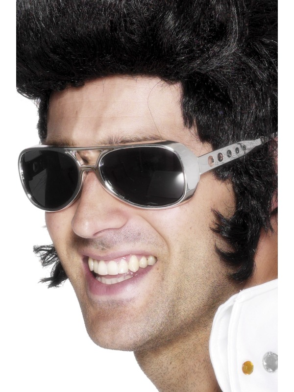 Adult-Elvis-Presley-Sun-Shades-Fancy-Dress-1970s-Glasses-Spectacles