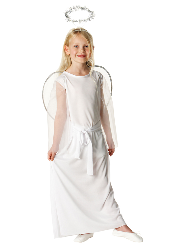 Child-3-10-Years-Angel-Fairy-Christmas-Outfit-Halo-Fancy-Dress-Girls-Costume