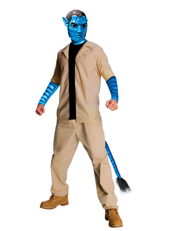 Avatar Costume Men Fancy Dress Costume Mens
