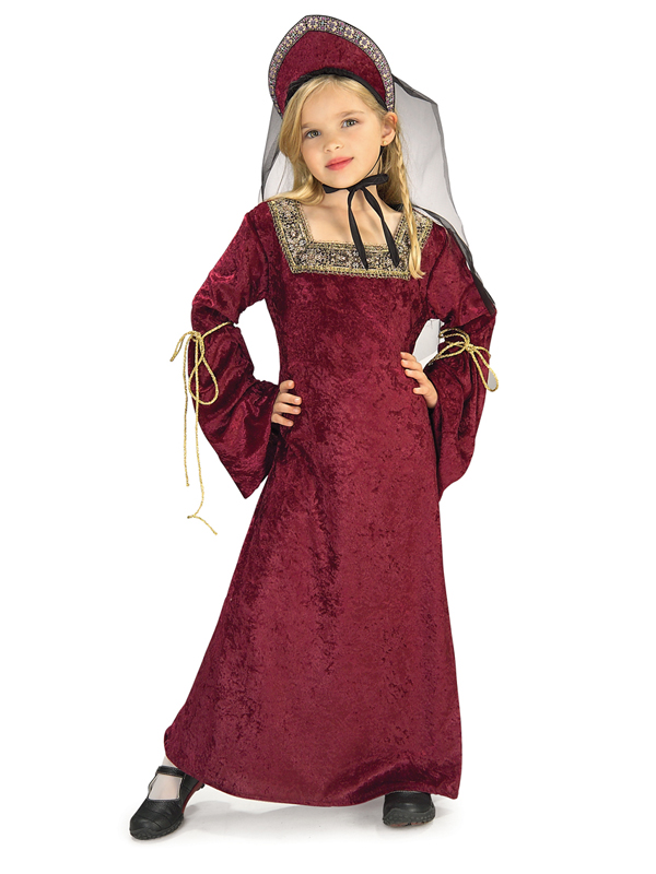 FDF_882490 children age 3 10 years tudor girl fancy dress henry viii costume,Childrens Clothes In Tudor Times