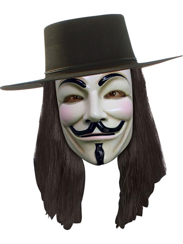 V For Vendetta Adult's Wig