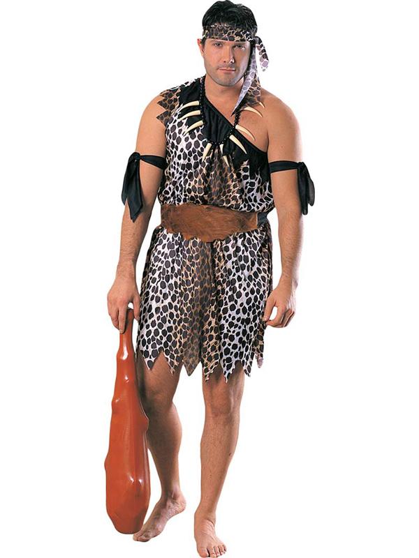 Caveman Costume Accessories : Caveman men s deluxe costume cavemen fancy dress fast
