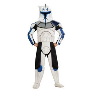 Child Cptn Rex Clone Trooper Star Wars Costume (Medium)