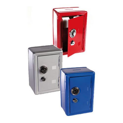 Red Mini Novelty Safe Money Box Piggy Bank Savings