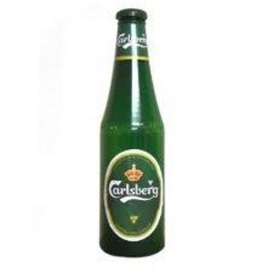 "Carlsberg Money Bottle Small Beer 12"" Piggy Bank Saving"