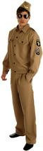 View Item Adult American GI Costume Fancy Dress Army Forces