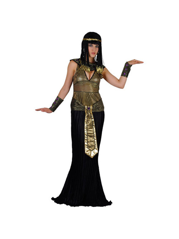 Adult-Ladies-Queen-Cleopatra-Fancy-Dress-Egyptian-Costume-UK-Sizes-6-28-BN