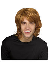 Strawberry Blonde Shag 70s Wig