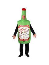 Men's One Piece Funny Beer Bottle Costume