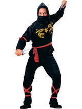 Ninja Samurai Men's Costume