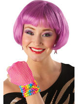 Purple Supermodel Wig