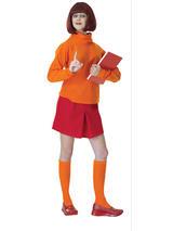 Scooby Doo Velma Ladies Costume