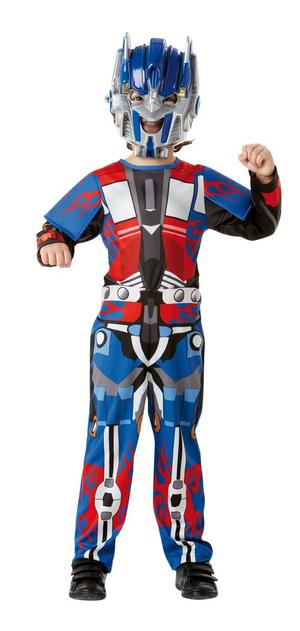 Child Boys Age 7-8 Years Optimus Prime Transfomers Fancy Dress Costume (Large)
