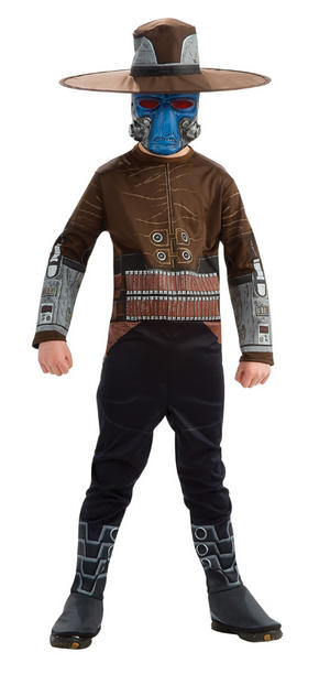 Child Ages 3-4 Years Licensed Star Wars Cad Bane Fancy Dress Costume Kids Boys