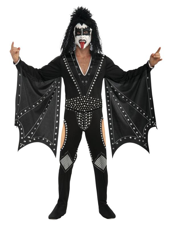 Adult-Kiss-The-Demon-Fancy-Dress-Costume-Rocker-Rock-Star-Mens-Gents