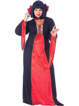 Gothic Vampiress Ladies Plus Size