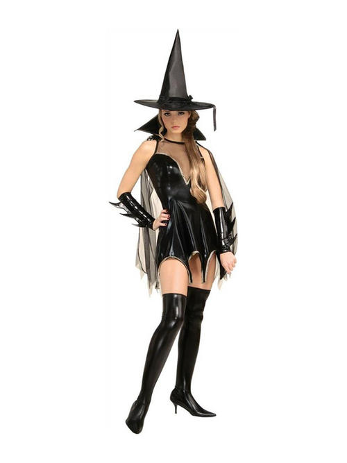 ... Black Magic Moment Sexy Witch Halloween Fancy Dress Costume Buy Online
