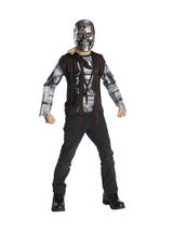 View Item Child Age 3-4 Years Licensed Terminator T600 Fancy Dress Costume Cyborg Boys