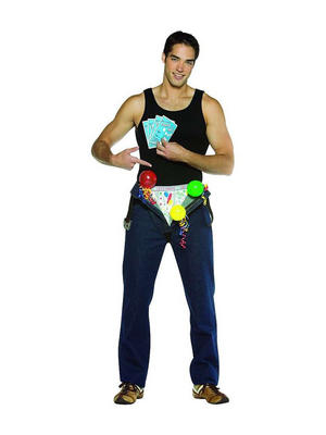 Adult Party in my Pants Funny Novelty Rude Fancy Dress Piece