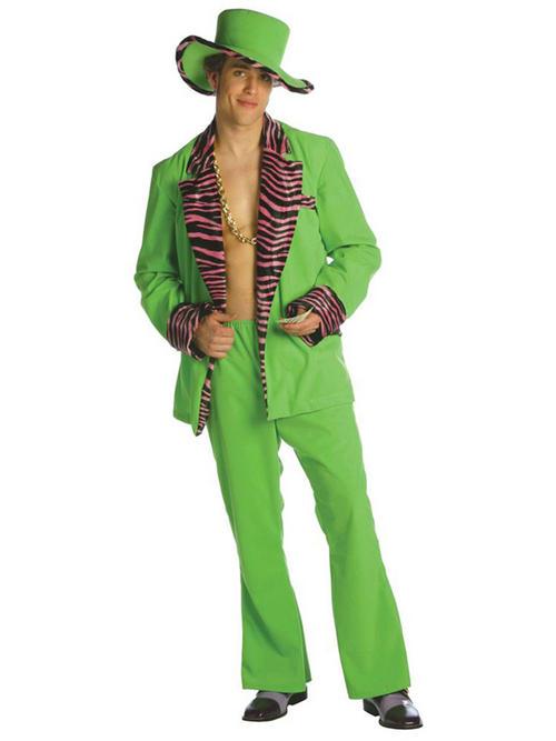 Pics photos mens lime leisure suit costume