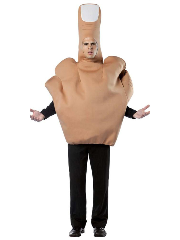 Adult's Middle Finger Costume