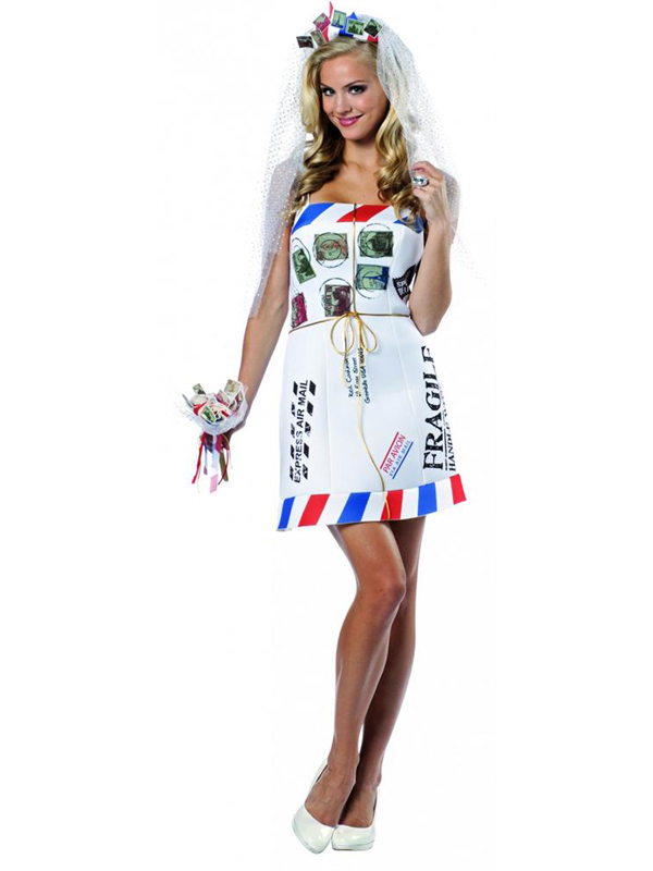 Adult's Mail Order Bride Costume