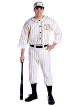 Adult's Baseball Player Costume