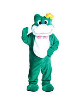 Men's Giant Frog Jumpsuit Costume
