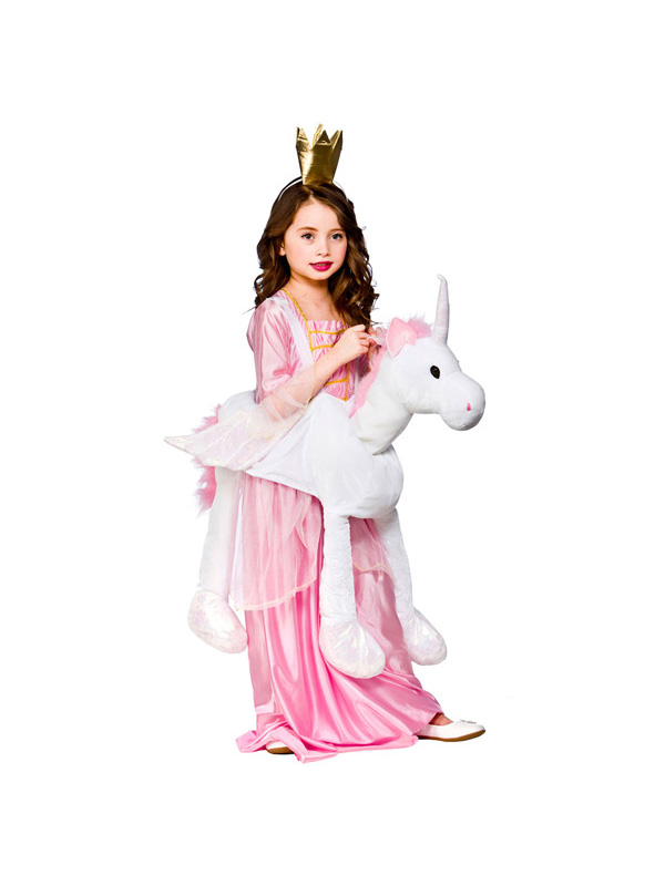 Girl's Magical Unicorn (Ride On) Costume
