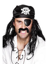 View Item Pirate Eyepatch Fancy Dress Costume Accessory