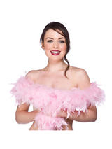 Baby Pink Feather Boa ( 1.8m Long, 80 gsm )