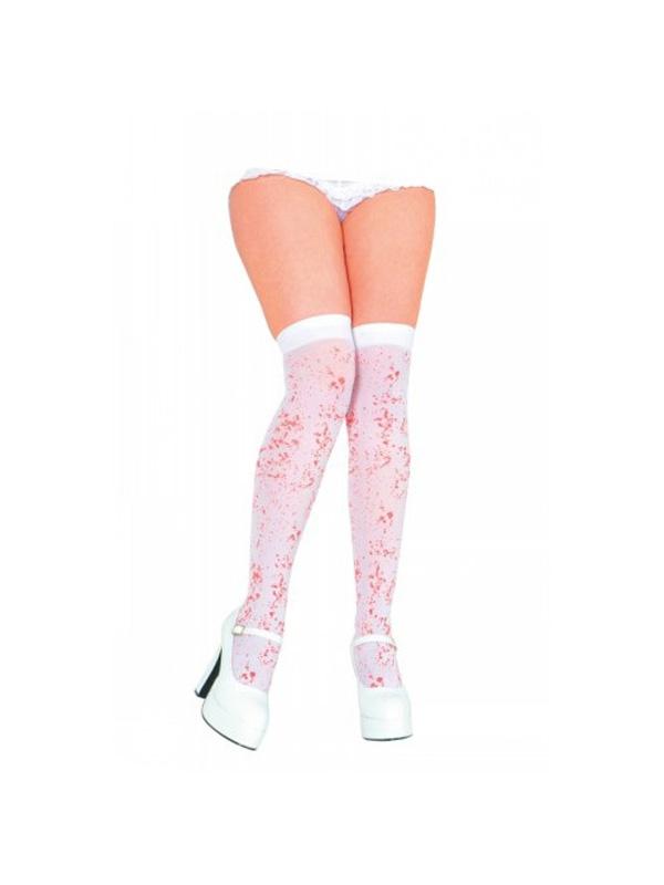 Blood Splattered White Stockings