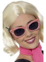 View Item 50s Polkadot Shades/Glasses Fancy Dress Accessory