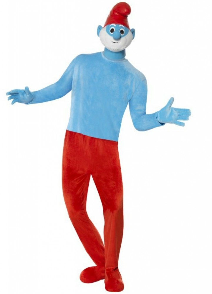 smurf costume adult