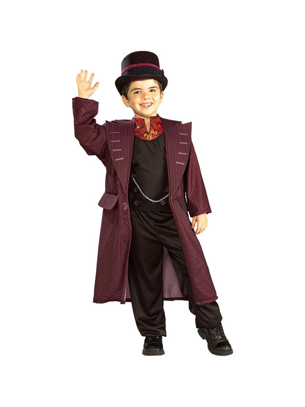 Child Licensed Willy Wonka Chocolate Factory Fancy Dress ...