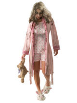View Item Adult 8-12 Licensed Walking Dead Little Girl Zombie Fancy Dress Costume Ladies