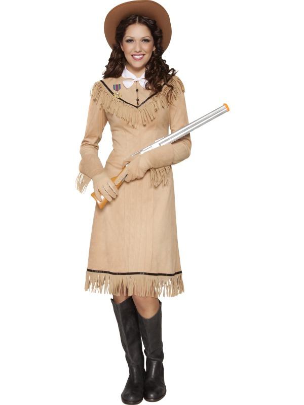 Adult Western Annie Oakley Wild West Fancy Dress Costume  sc 1 st  Meningrey & Western Costume For Women - Meningrey