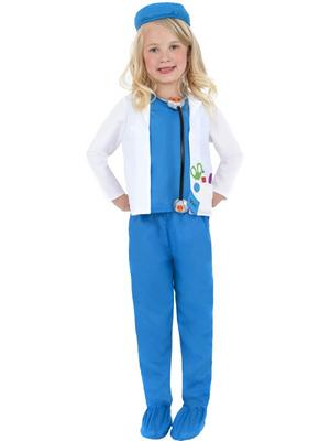 Child Age 4-6 Years Doctor/ Vet Surgeon Fancy Dress Hospital Costume (Small)