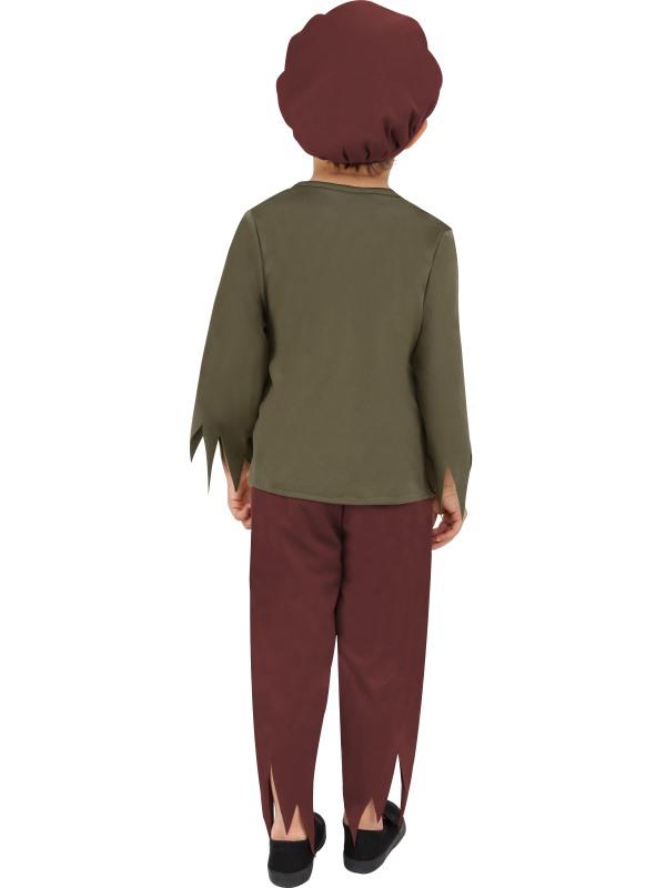 Child-Victorian-Poor-Boy-Fancy-Dress-Costume-Book-Week-Pauper-Urchin-Boys-BN