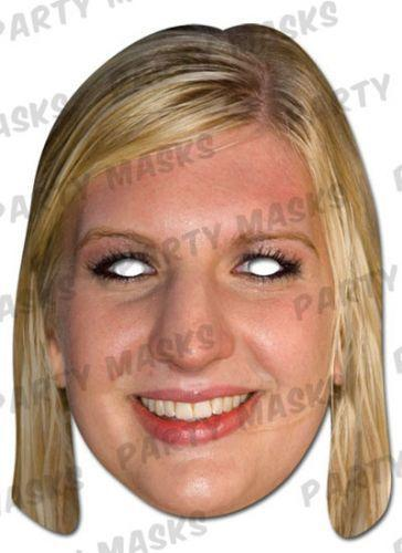 Rebecca Adlington Fancy Dress Olympic Sports Freestyle Swimmer Face Mask