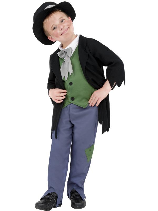 Child-Victorian-Edwardian-Artful-Dodger-Fancy-Dress-Costume-Book-Week-Boys-Kids
