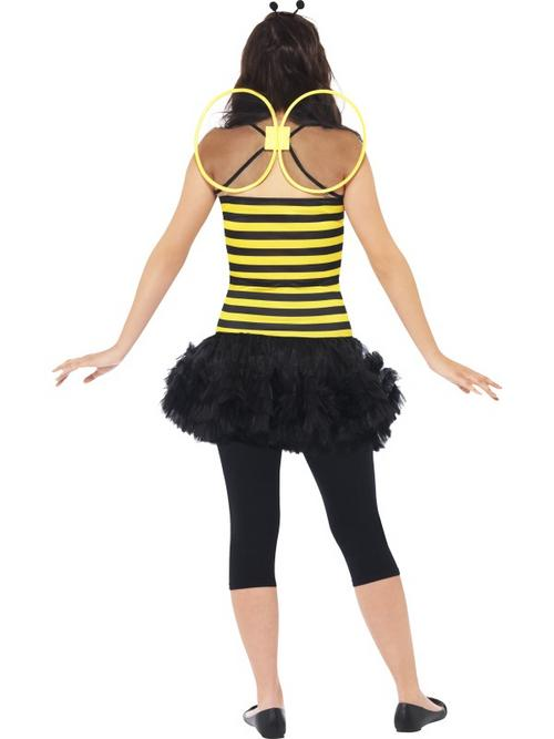 teen miss bumblebee costume extra small animals and insects fancy dress fast costumes and. Black Bedroom Furniture Sets. Home Design Ideas