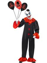 View Item Adult Small Schitzo Clown Halloween Fancy Dress Costume Living Dead Dolls Mens