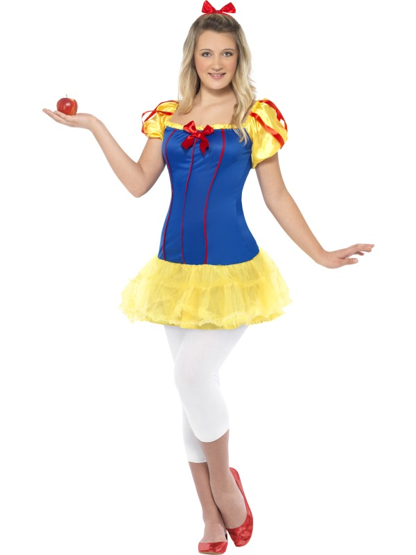 teen miss snow white costume extra small animals and insects fancy dress fast costumes and. Black Bedroom Furniture Sets. Home Design Ideas