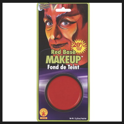 RED GREASE FACE PAINT HALLOWEEN/CHRISTMAS MAKE-UP PARTY FANCY DRESS