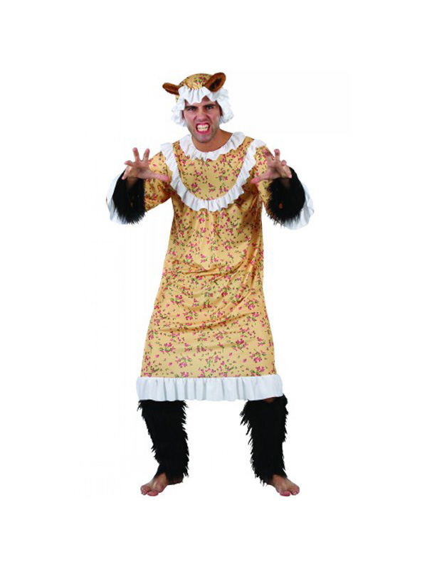 Adult-Big-Bad-Wolf-Granny- Big Bad Wolf Costume Girls  sc 1 st  tvnewsclips.info & Big Bad Wolf Costume Girls - 2018 images u0026 pictures - cape design ...