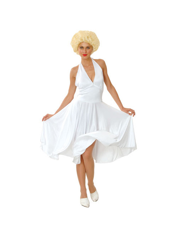 Ladies-Hollywood-Starlet-Actress-Marilyn-Monroe-Fancy-Dress-Costume-BN
